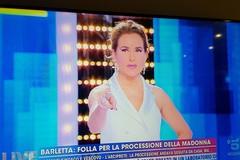 """Barletta e il """"caso processione"""" al programma di Barbara D'Urso"""