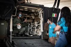 """La Confraternita Misericordia di Andria a lezione dall'82° Reggimento fanteria """"Torino"""" di Barletta"""