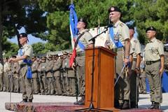 """Cambio del comandante dell'82° Reggimento Fanteria """"Torino"""" a Barletta"""