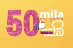 Siamo sempre di più, 50mila mi piace per BarlettaViva su Facebook