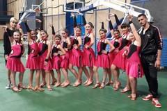 """Campionati di danza a squadre, tre ori per la """"Non solo latino"""" di Barletta"""