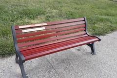 Ignobili vandali rovinano la panchina rossa al castello di Barletta