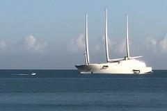 Passa anche da Barletta lo yacht a vela più grande del mondo