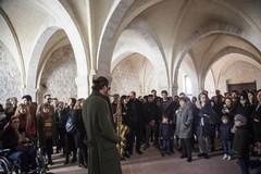 """Musica e arte, 280 persone in visita per l'""""Anteprima d'archivio"""""""