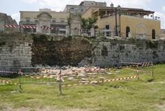 Crollo delle Mura del Carmine: ieri il sopralluogo