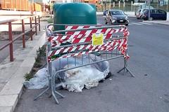 """Amianto in via Dimiccoli ma """"in attesa di essere rimosso"""""""