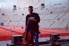 Musica e adrenalina, un barlettano all'Arena di Verona