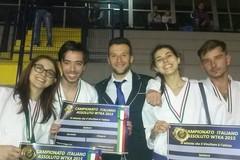 Energymania Barletta, poker di medaglie dai Campionati Italiani Assoluti