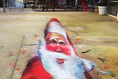 Il Babbo Natale nascosto di Piazza Federico II