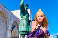 "Barbie in Town: ""influencer"" d'eccezionein giro per la Puglia"