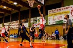 Barletta Basket, sconfitta indolore contro i Bulls Bisceglie