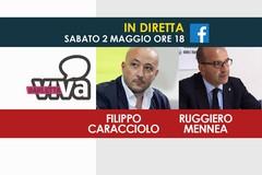 Diretta con i consiglieri regionali Filippo Caracciolo e Ruggiero Mennea