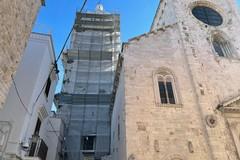 Campanile del duomo di Barletta, finiti i lavori di restauro