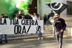 """Futurismo e rivendicazioni studentesche, la protesta al """"Casardi"""" di Barletta"""