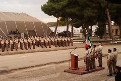 """Il comandante delle forze di difesa del centro sud Italia visita il """"Torino"""""""