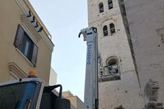 Cattedrale di Barletta, avviati i lavori di ripristino del varco