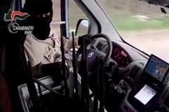 Rapine ai tir con metodi «violenti»: partite da Barletta le indagini