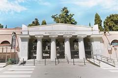 Cimitero di Barletta chiuso a causa del vento forte