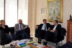 L'amministrazione incontra il presidente e il direttore dell'ARCA