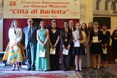 """Concorso """"Città di Barletta"""", musicisti da 60 nazioni diverse"""