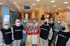 Uova di cioccolato per i piccoli pazienti dell'ospedale di Barletta