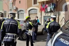 Controlli e sanzioni in piazza Divittorio a Barletta