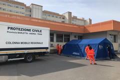 Coronavirus, anche a Barletta tende pre-triage davanti al Pronto soccorso