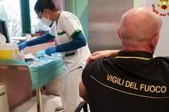 Covid, anche nella Bat è stata avviata la campagna vaccinale per i Vigili del fuoco
