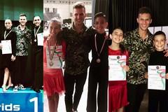 Cquadrostyle di Barletta ai vertici ai campionati italiani di categoria di danza sportiva 2019