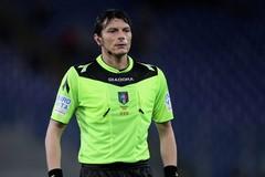 L'arbitro Antonio Damato di Barletta componente della CAN Pro