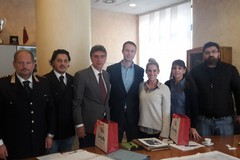 Relitti americani in Adriatico, delegazione Usa in visita a Barletta