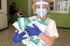 L'OPI Bat dona 2500 mascherine FFP2 agli infermieri del territorio