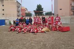 Draghi Bat, contro l'Amatori Rugby Bitonto arriva la prima vittoria in casa
