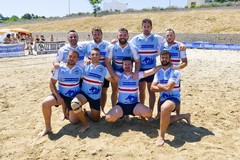 """""""Trofeo Italiano"""", presenti anche i Draghi Beach Rugby Team"""
