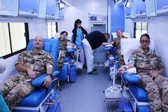 L'Esercito Italiano e l'Avis di Barletta impegnati nella raccolta di sangue