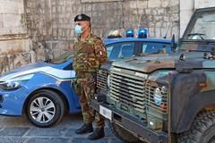 Coronavirus, l'esercito da ieri a Barletta contro gli assembramenti