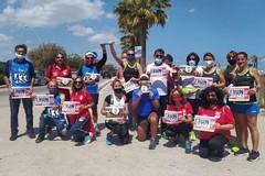 """Corsa e solidarietà, la staffetta """"Run4Hope"""" passa da Barletta"""
