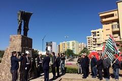 Primo Maggio, a Barletta l'omaggio alle vittime del lavoro