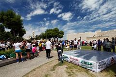 Il Castello di Barletta si colora di sport