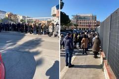 Over 80 in fila per i vaccini al PalaBorgia di Barletta