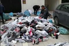 Contraffazione al mercato di Barletta, 1500 articoli sequestrati