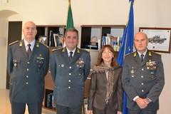 Guardia di Finanza, il comandante regionale Augelli in visita a Barletta