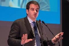 Il leader nazionale di Noi con l'Italia, Raffaele Fitto, oggi a Barletta