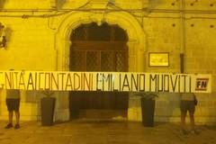 Forza Nuova si mobilita a Barletta: «Dignità ai contadini italiani»