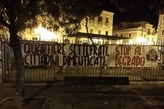 Degrado nel quartiere Settefrati, a Barletta la protesta di CasaPound