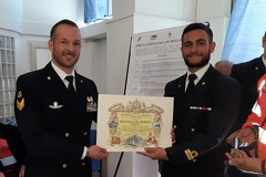 Salvò un uomo in mare, premio per il sergente di Barletta Ruggiero Iodice