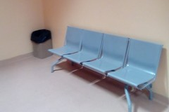 Reparto Terapia del dolore a Barletta, carenza di posti nella sala d'aspetto