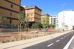 La nuova area verde di via Ofanto apre al pubblico