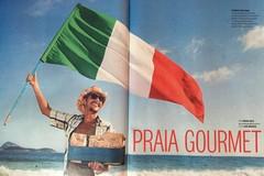 """Gianluca e l'app per ordinare i """"paninos italianos"""" sulla spiaggia di Rio"""