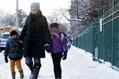 Tutti a scuola con il freddo, studenti di Barletta in rivolta